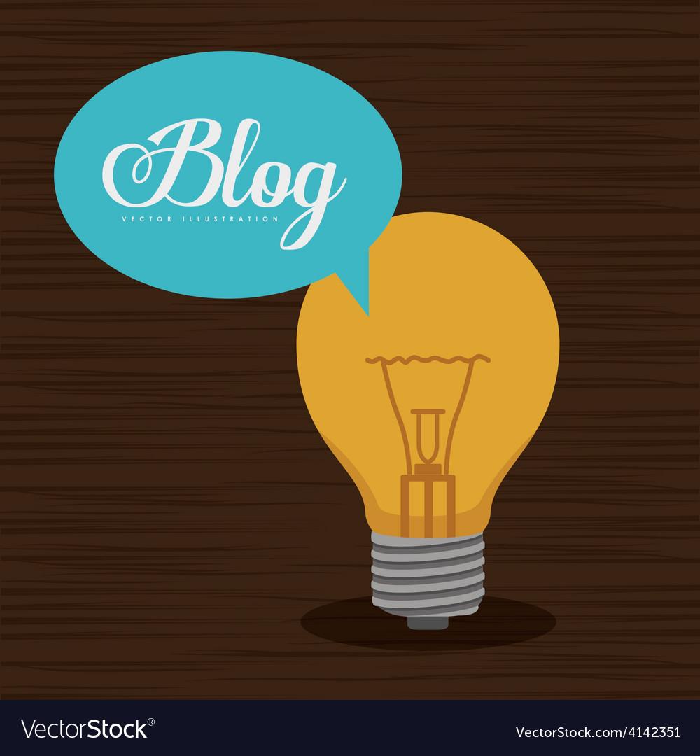 Blogger design vector | Price: 1 Credit (USD $1)