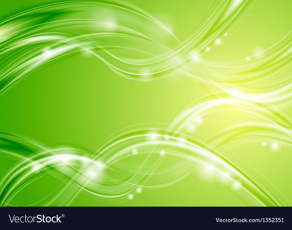 Colourful wavy spring waves design vector | Price: 1 Credit (USD $1)