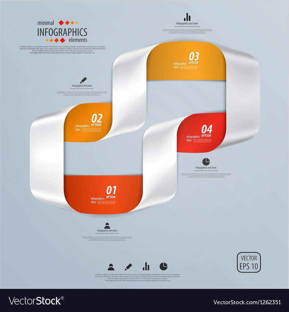 Infographics template vector | Price: 3 Credit (USD $3)