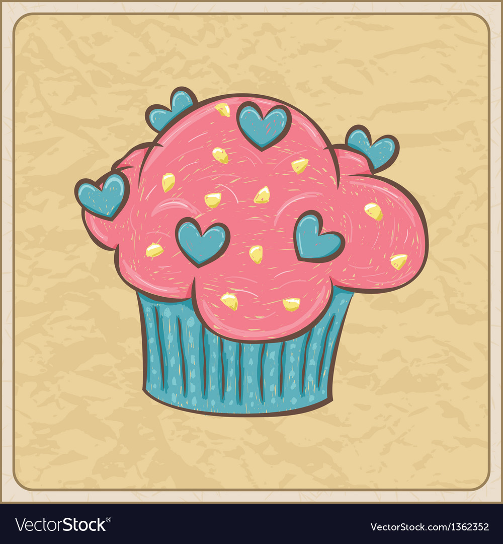 Cupcakes12 vector | Price: 1 Credit (USD $1)