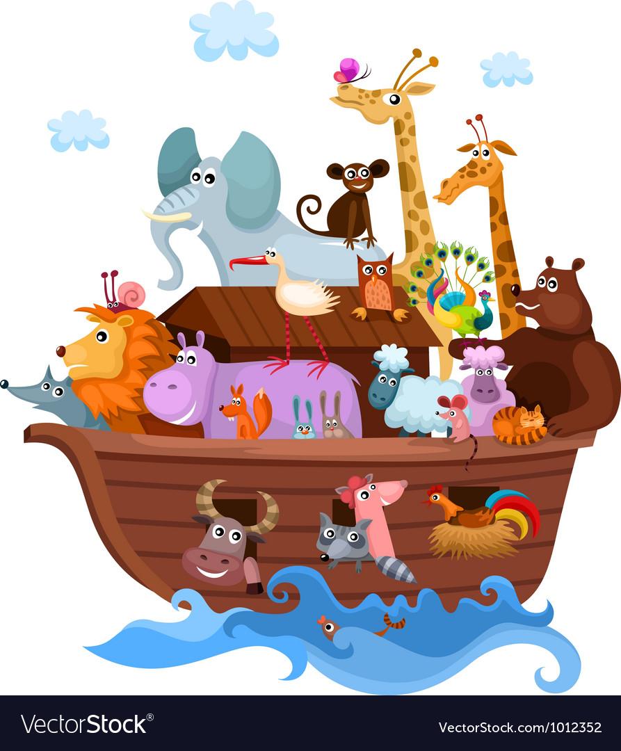 Noahs ark vector
