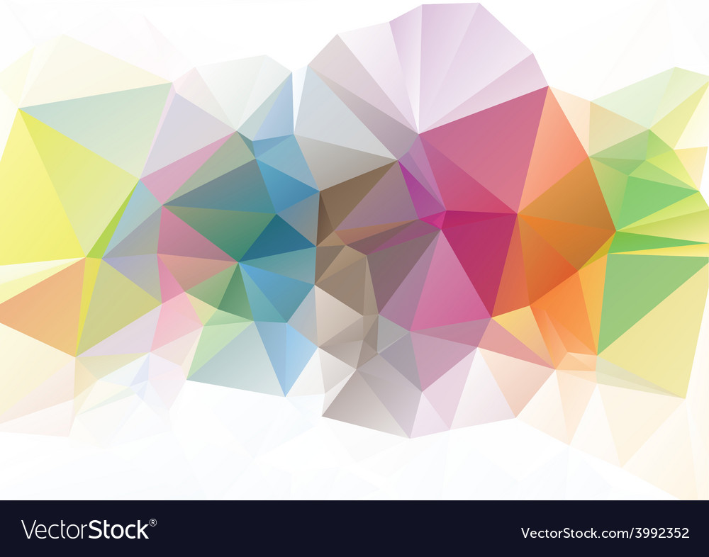 Polygonal mosaic background business design vector | Price: 1 Credit (USD $1)
