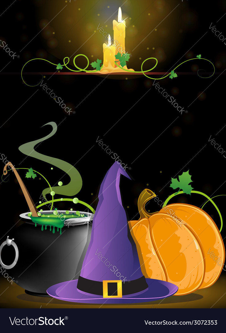 Halloween witch supplies vector | Price: 3 Credit (USD $3)