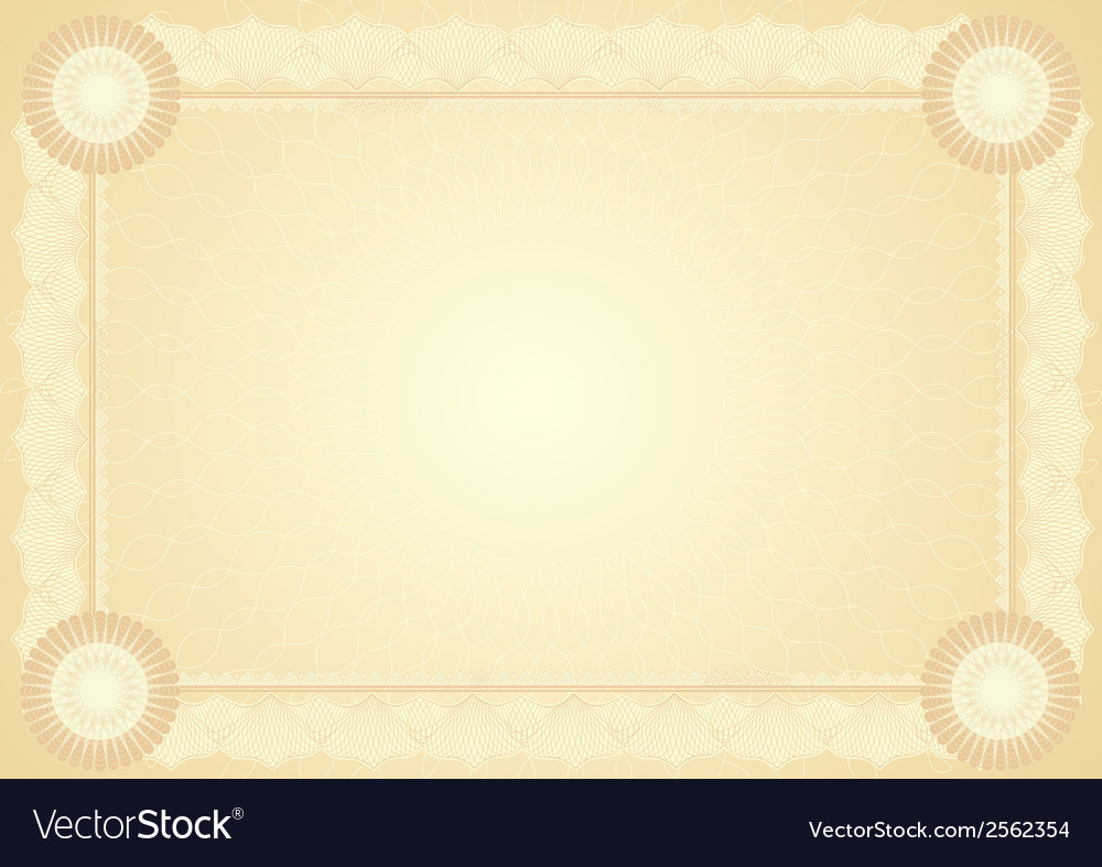 Diploma certificate vector | Price: 1 Credit (USD $1)
