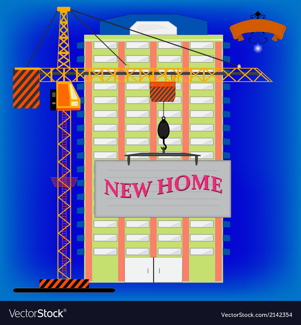 New home vector | Price: 1 Credit (USD $1)