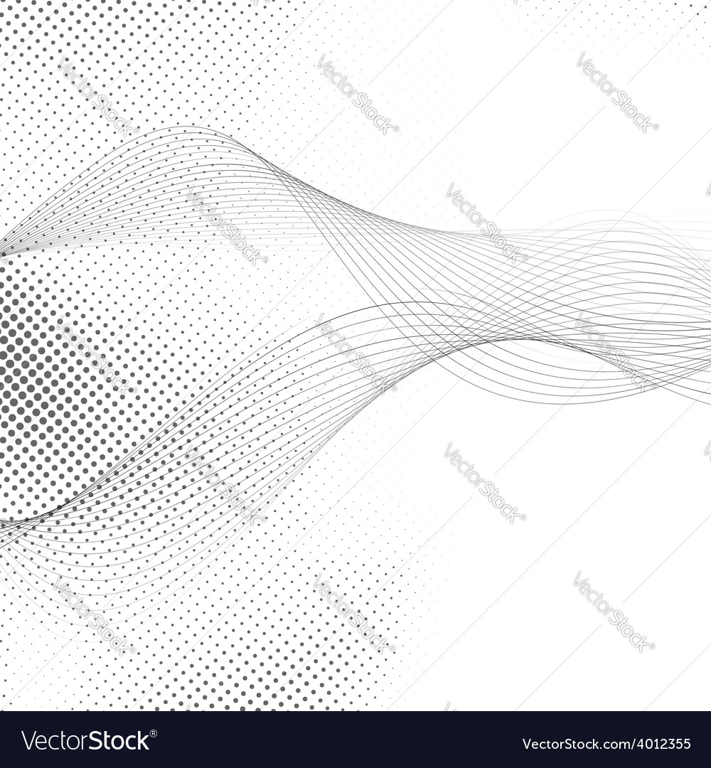 Abstract smooth swoosh line dotted noise vector | Price: 1 Credit (USD $1)