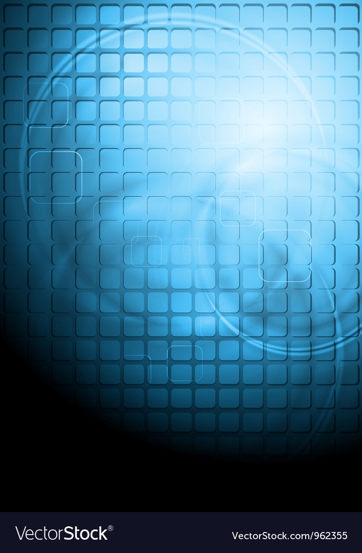 Blue technology background with square elements vector   Price: 1 Credit (USD $1)