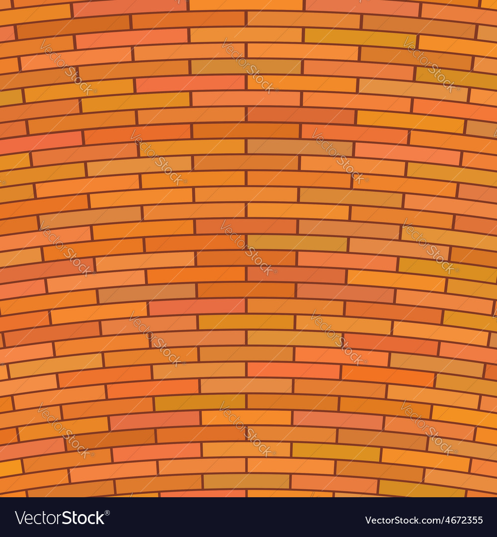 Red brick wall vector | Price: 1 Credit (USD $1)