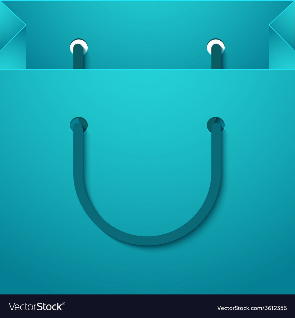 Modern shooping bag background vector | Price: 1 Credit (USD $1)