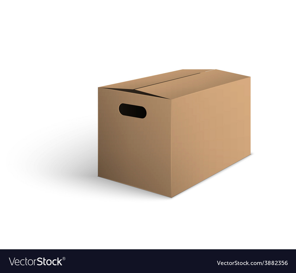 Package box vector | Price: 1 Credit (USD $1)