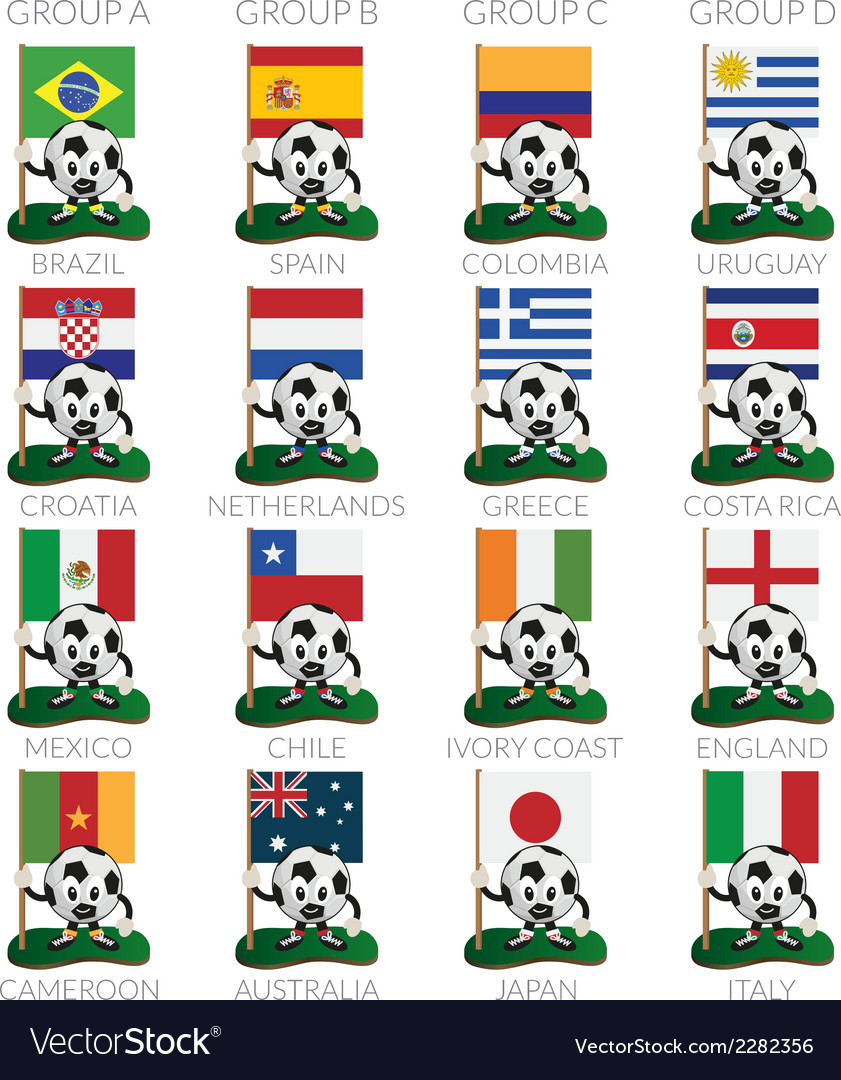 Soccer cup icons vector | Price: 1 Credit (USD $1)