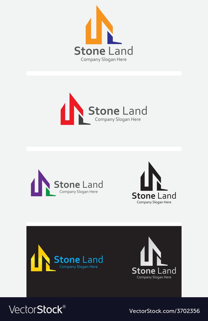Stone land vector | Price: 1 Credit (USD $1)