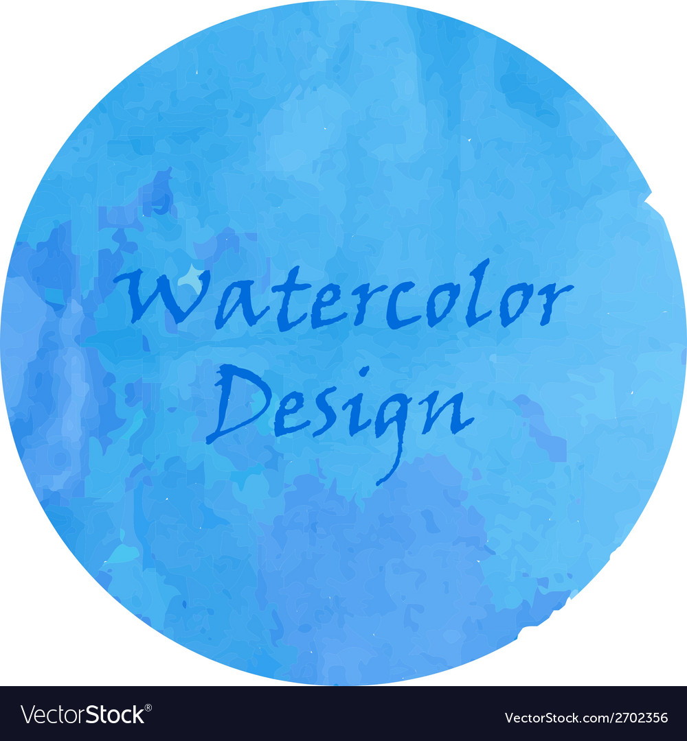Watercolor deep blue vector | Price: 1 Credit (USD $1)
