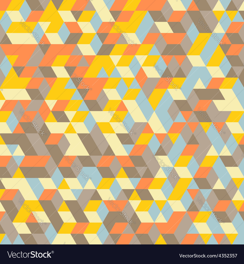 Abstract 3d background wall of cubes vector | Price: 1 Credit (USD $1)