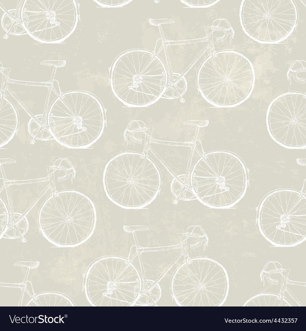 Aged vintage bike pattern vector | Price: 1 Credit (USD $1)