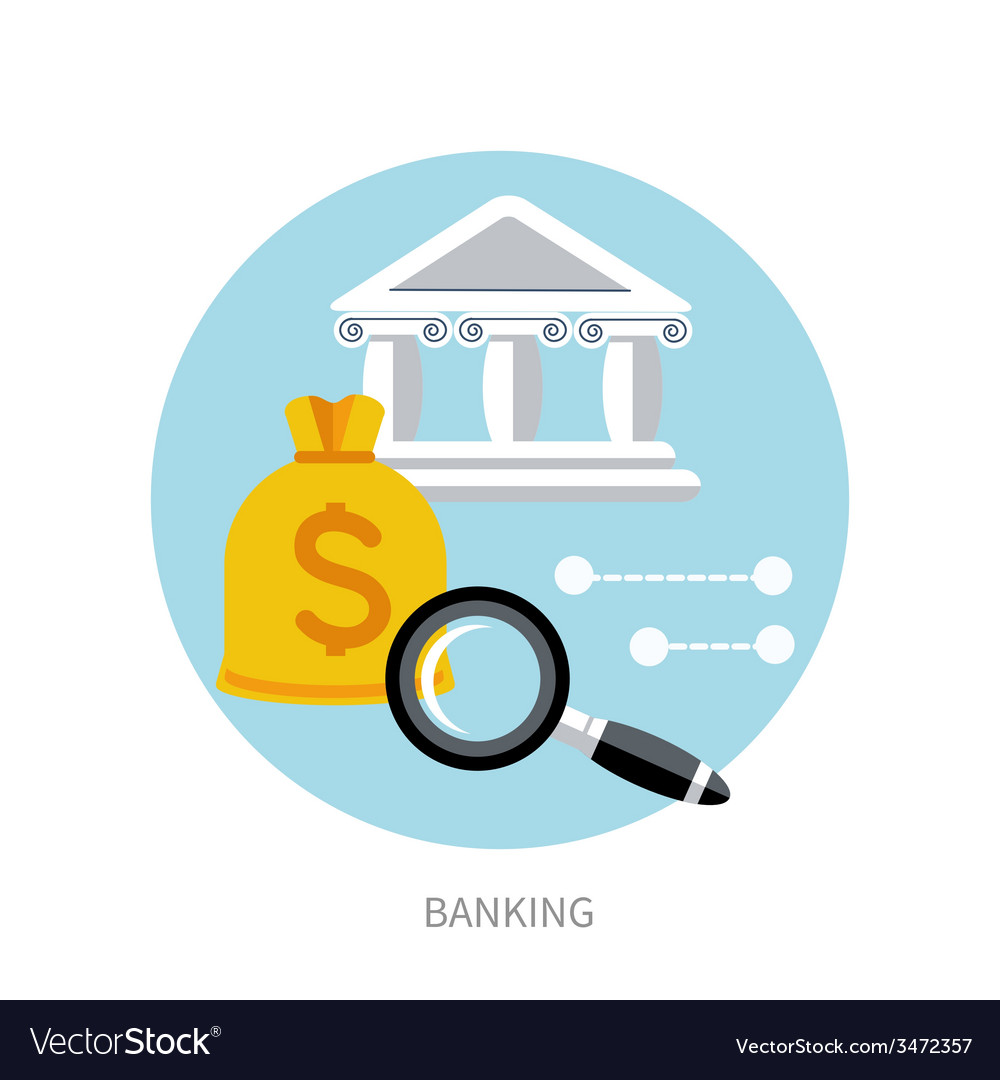 Bank office symbol vector | Price: 1 Credit (USD $1)