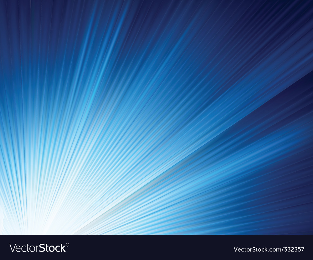 Blue shine rise rays vector | Price: 1 Credit (USD $1)