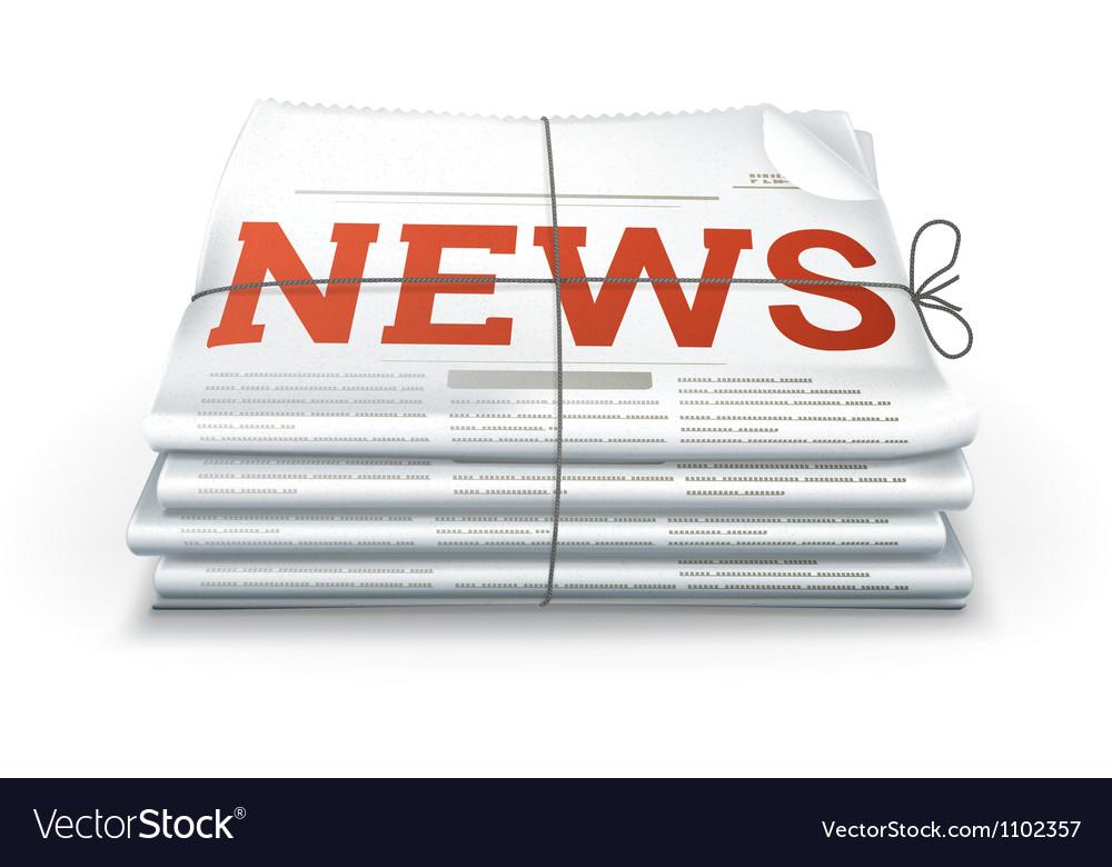 News vector | Price: 1 Credit (USD $1)