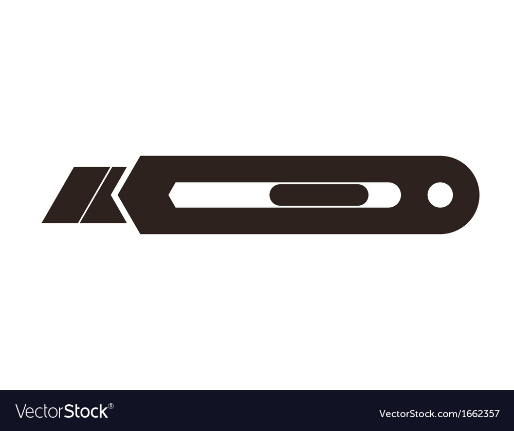 Utility knife vector | Price: 1 Credit (USD $1)