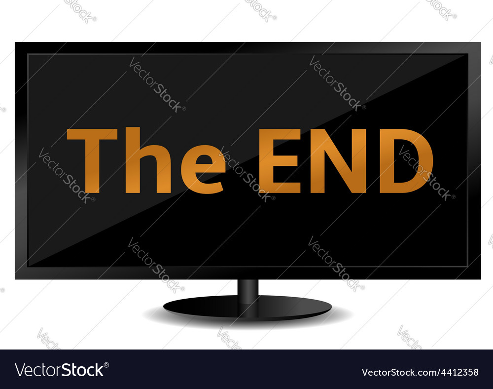 The end vector | Price: 1 Credit (USD $1)