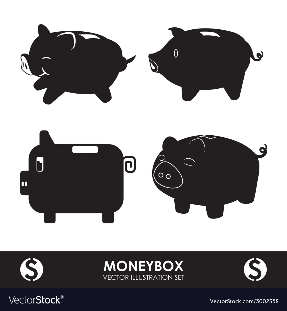 Savings graphic vector | Price: 1 Credit (USD $1)