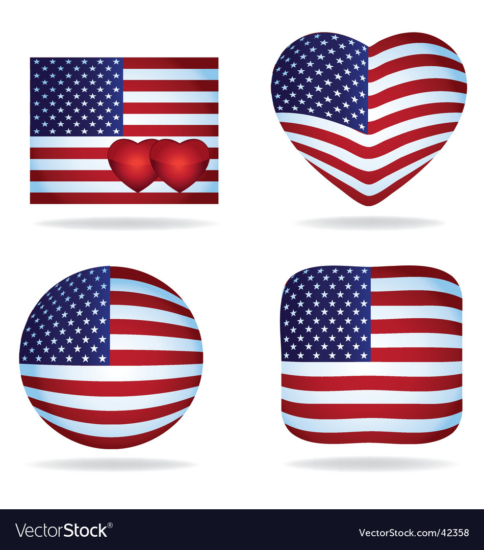 Usa icons pack vector | Price: 1 Credit (USD $1)