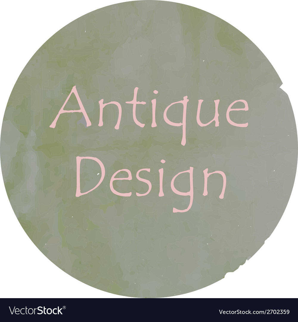 Antique colors design vector | Price: 1 Credit (USD $1)