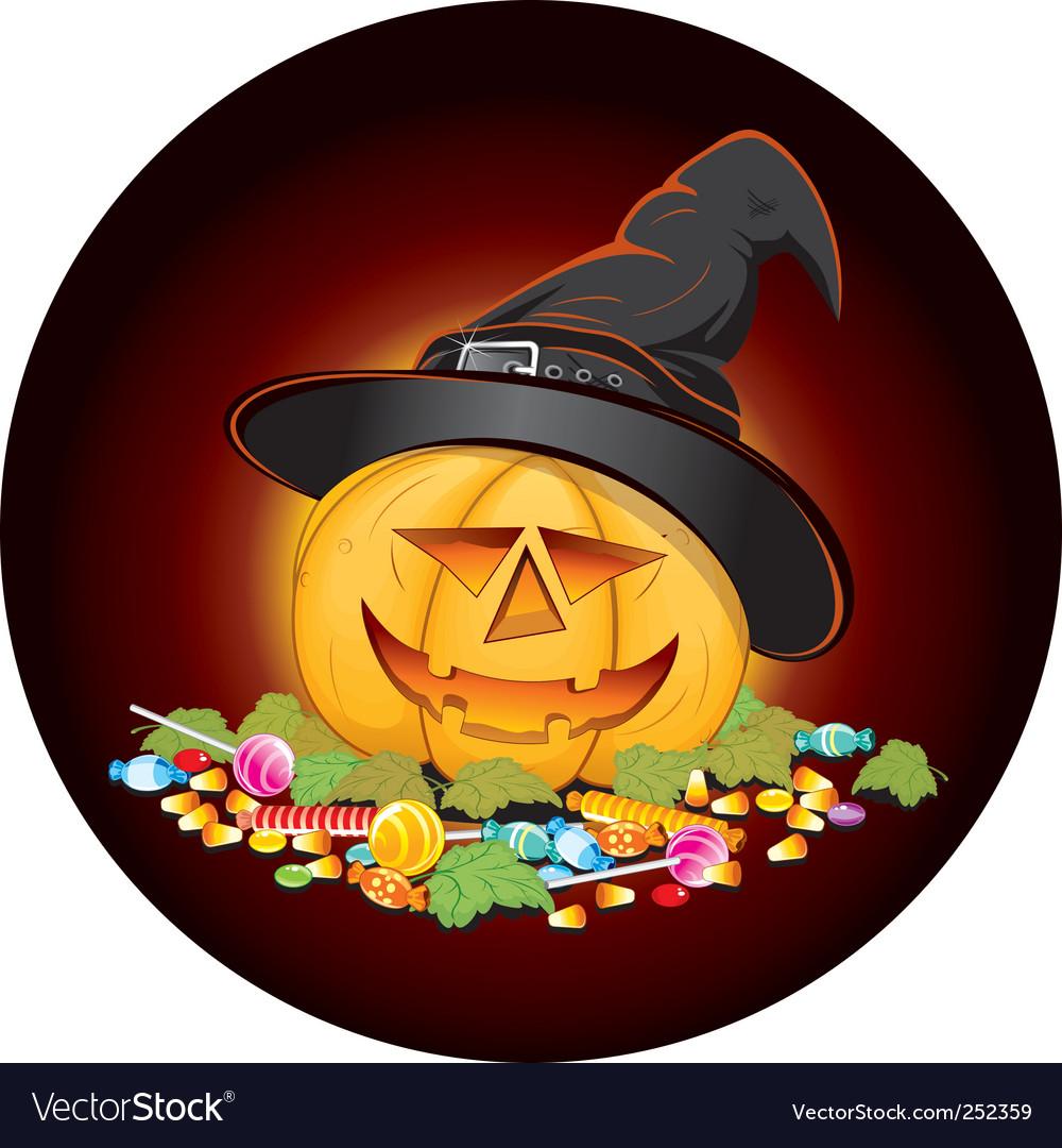 Halloween candies vector | Price: 3 Credit (USD $3)