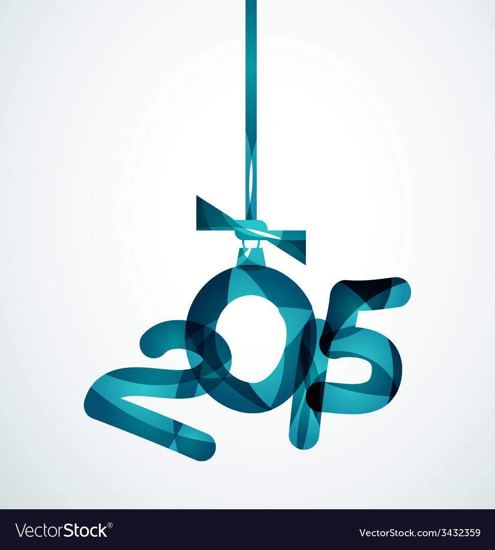 Happy new year concept vector | Price: 1 Credit (USD $1)