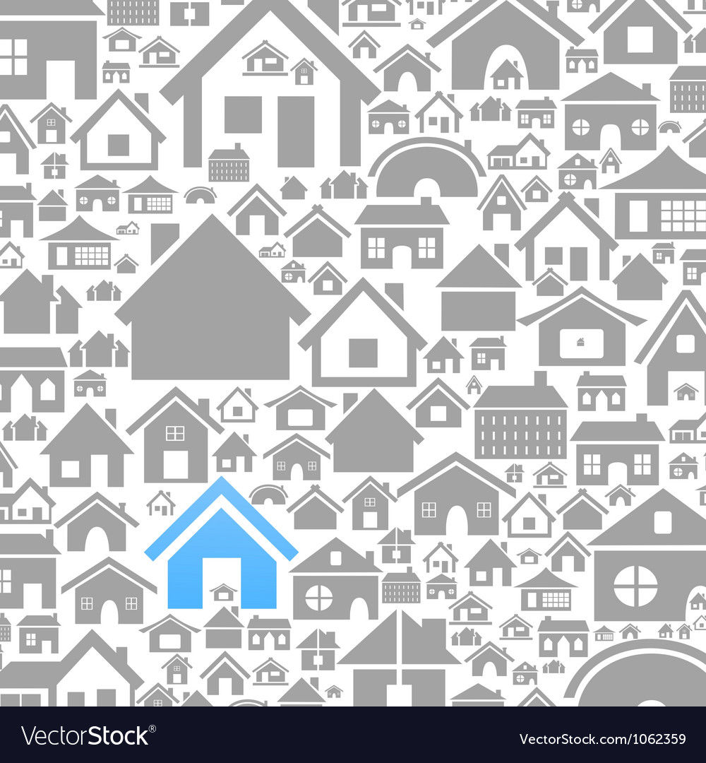 House a background vector | Price: 1 Credit (USD $1)