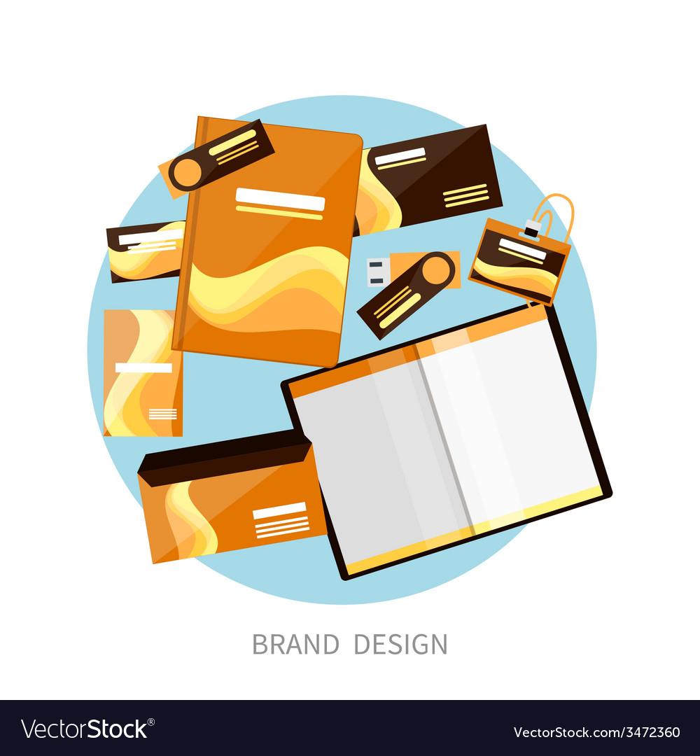 Brand design vector | Price: 1 Credit (USD $1)