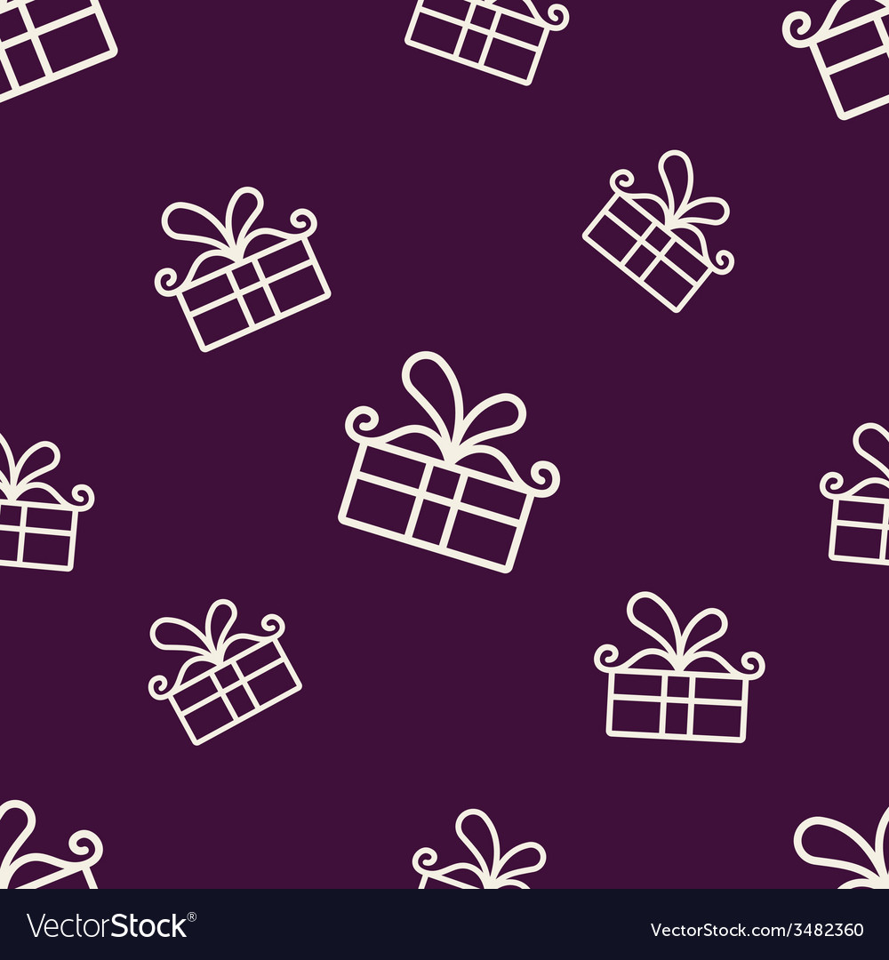 Gift pattern two vector | Price: 1 Credit (USD $1)