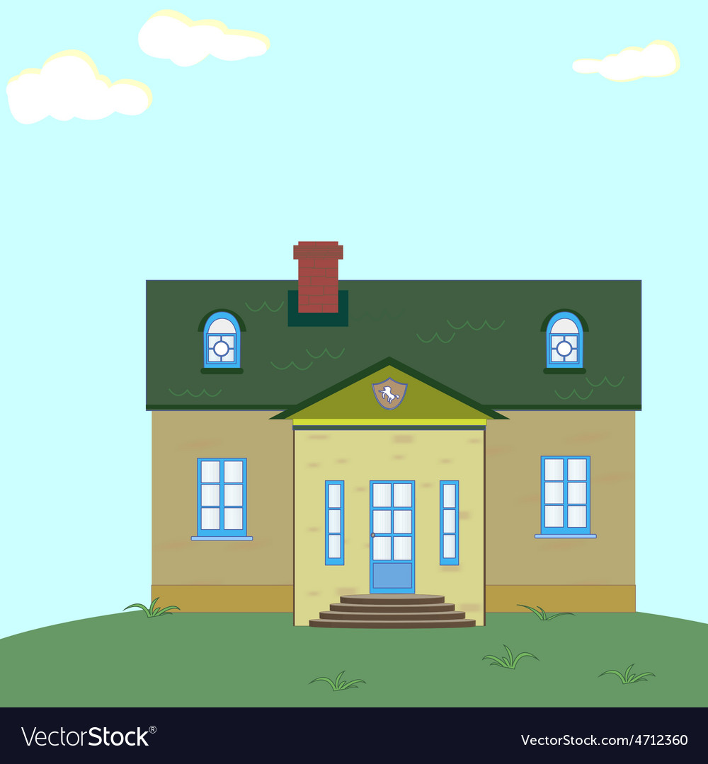 Mansion vector | Price: 1 Credit (USD $1)