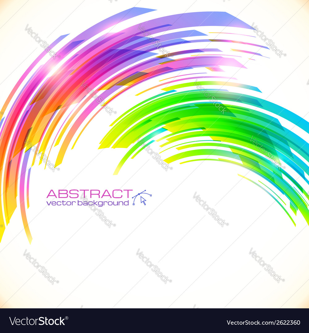 Rainbow colors abstract shining background vector   Price: 1 Credit (USD $1)