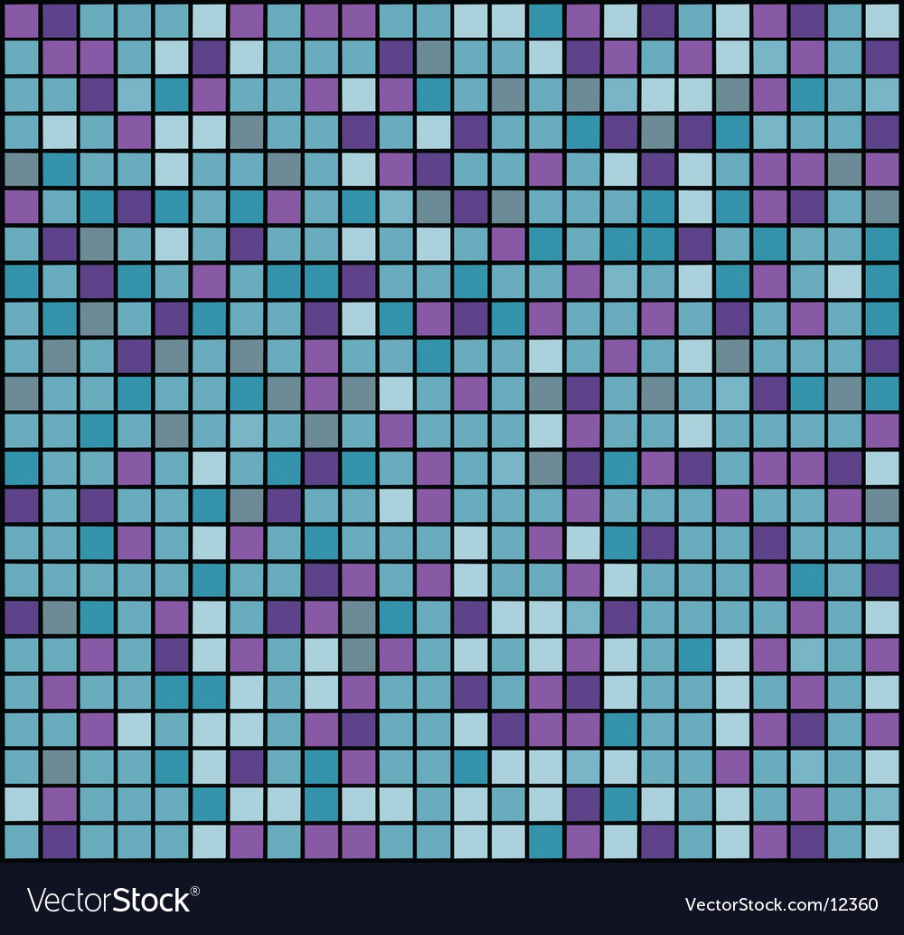 Square mosaic vector