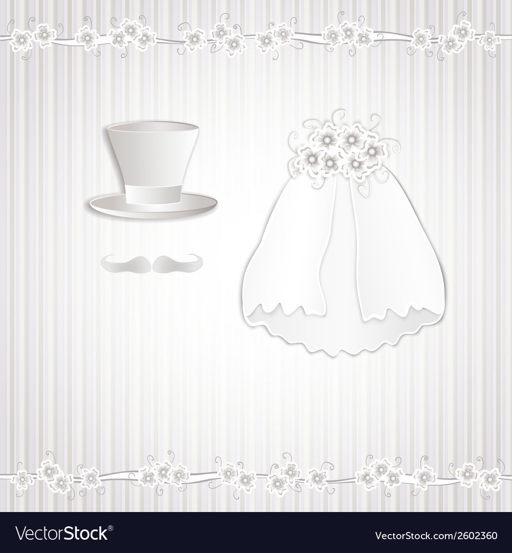 Wedding vintage vector | Price: 1 Credit (USD $1)