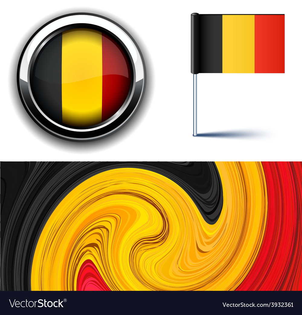 Belgian flag vector   Price: 1 Credit (USD $1)