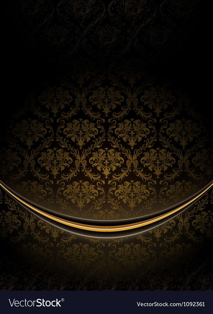 Black luxury background vector | Price: 1 Credit (USD $1)