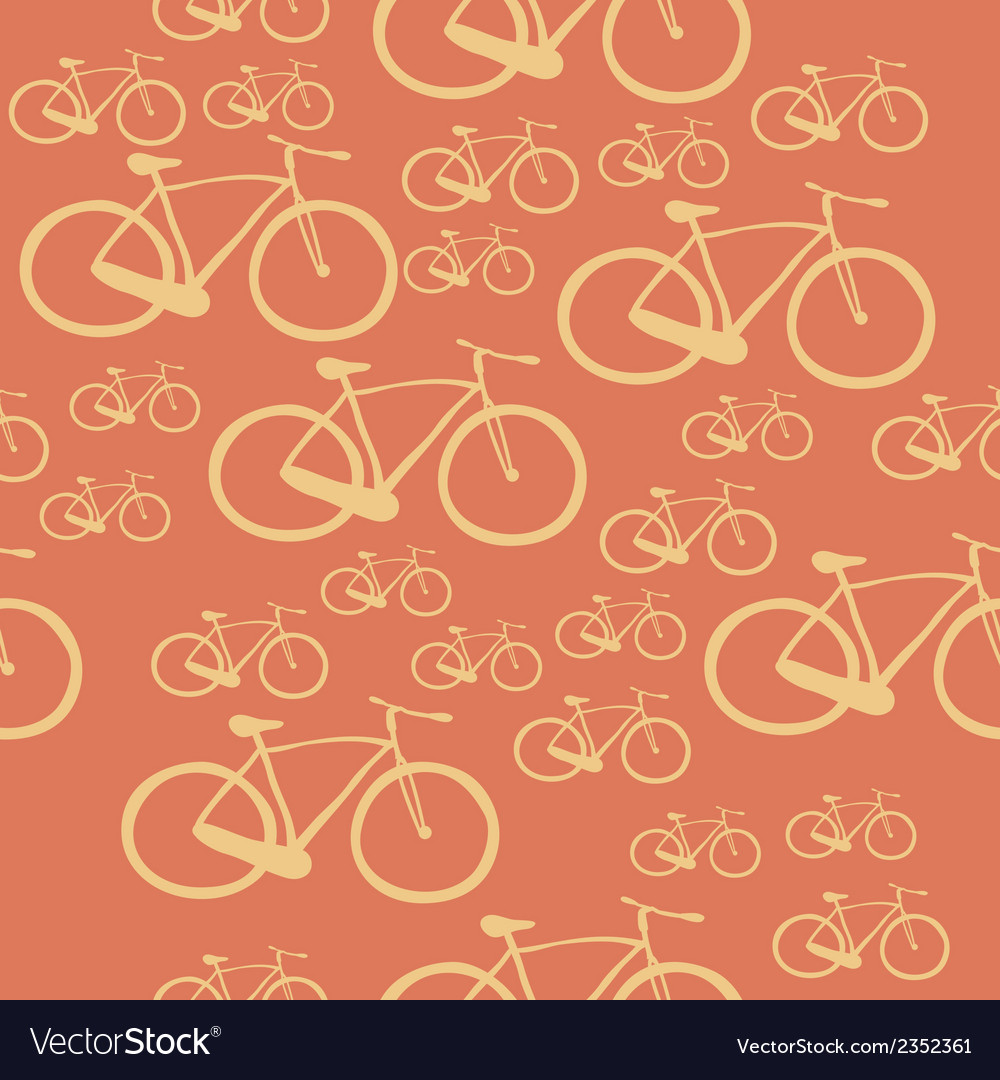 Pattern bike vector | Price: 1 Credit (USD $1)