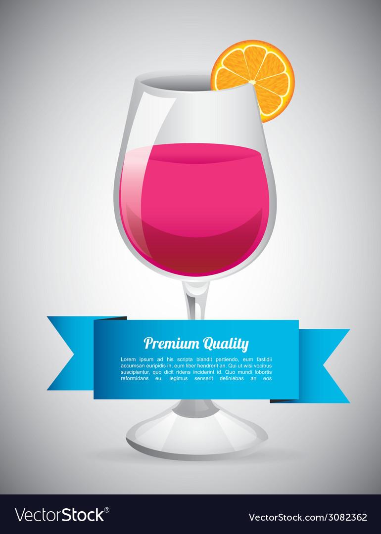 Cocktail design vector   Price: 1 Credit (USD $1)