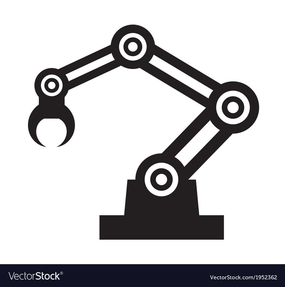 Robot hand vector | Price: 1 Credit (USD $1)