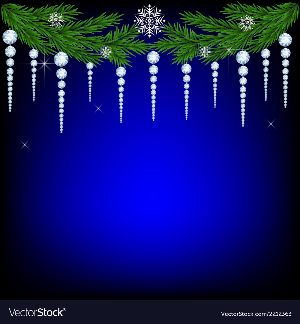Christmas fir twig vector | Price: 1 Credit (USD $1)