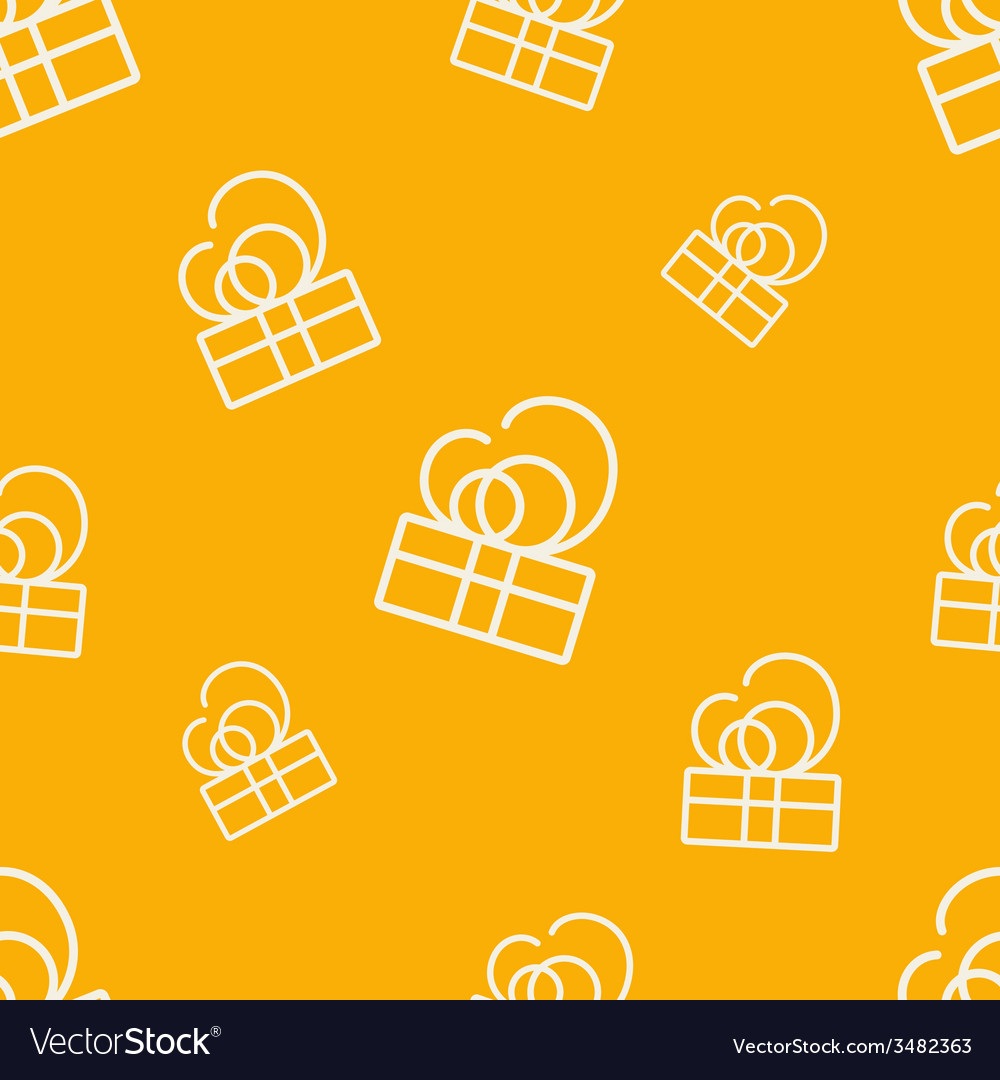 Gift pattern seven vector | Price: 1 Credit (USD $1)