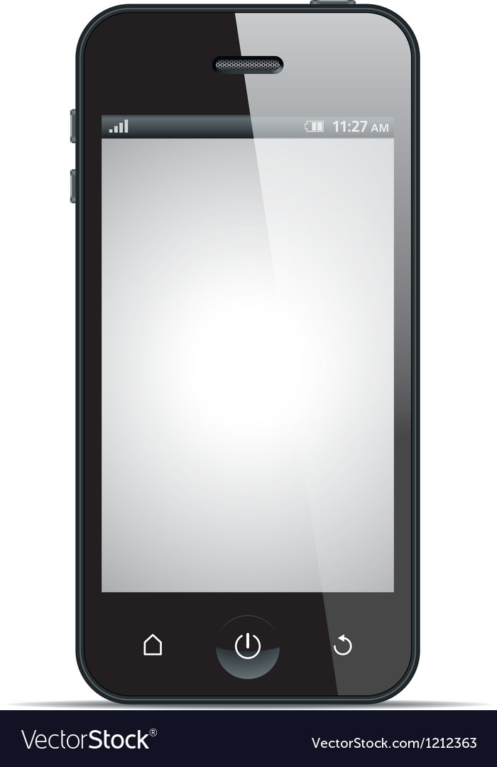 Smart phone vector | Price: 3 Credit (USD $3)