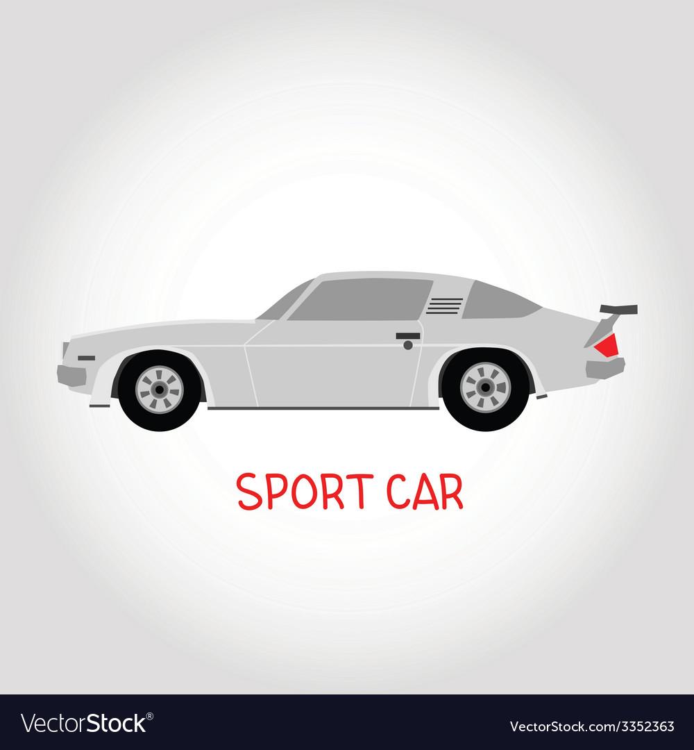 Sport car vector | Price: 1 Credit (USD $1)