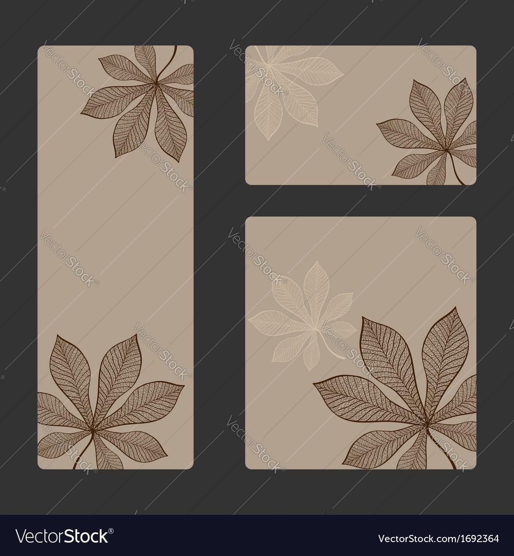 Autumn sticker set vector   Price: 1 Credit (USD $1)