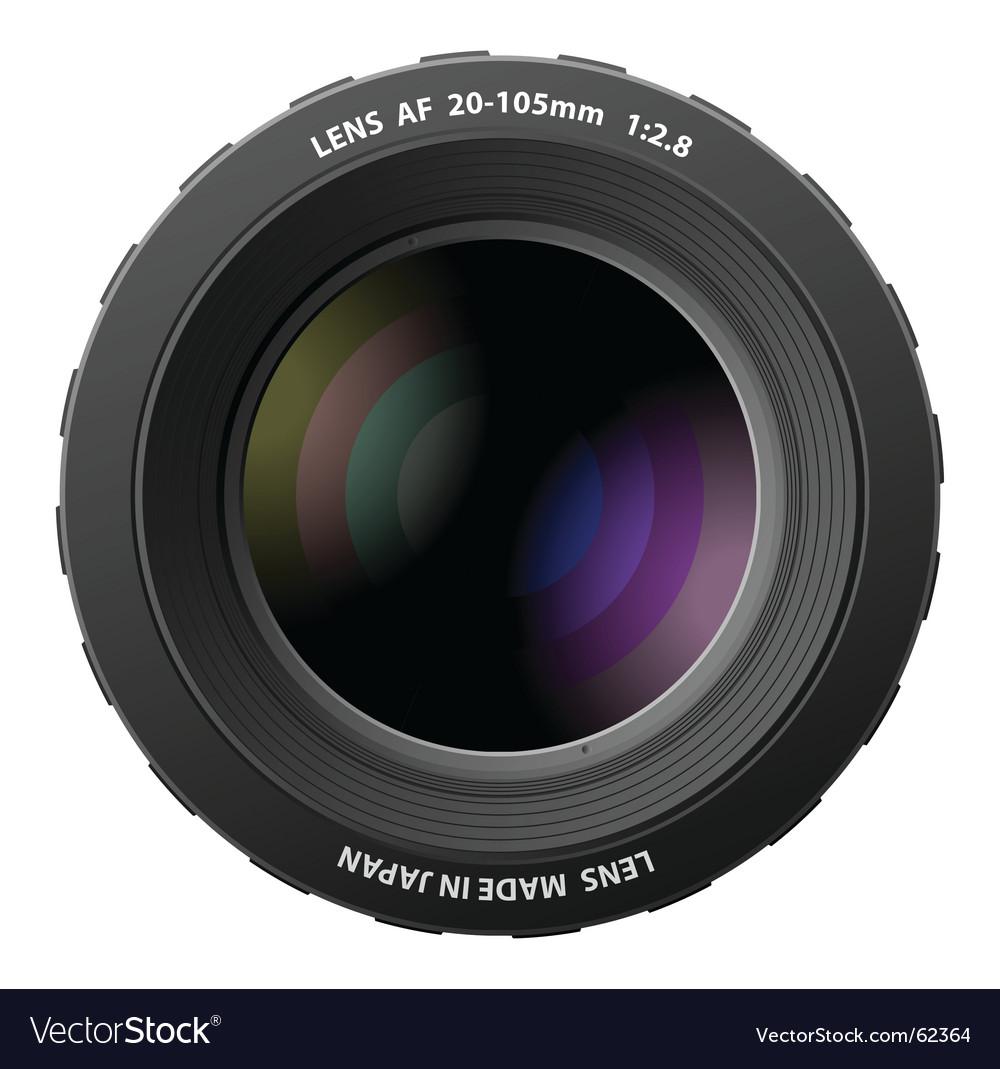 Camera lenses vector | Price: 1 Credit (USD $1)