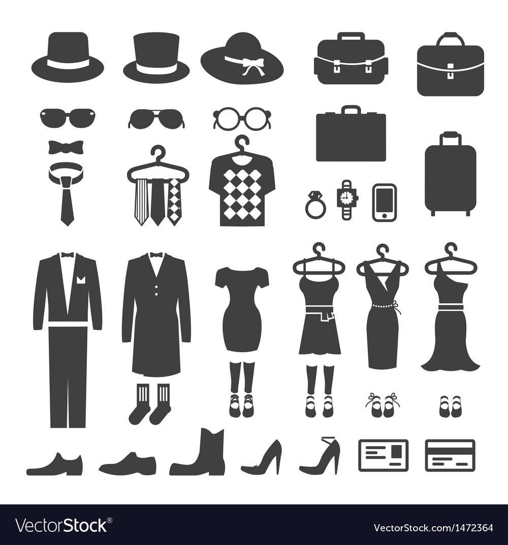 Clothing store shopping icon vector | Price: 1 Credit (USD $1)