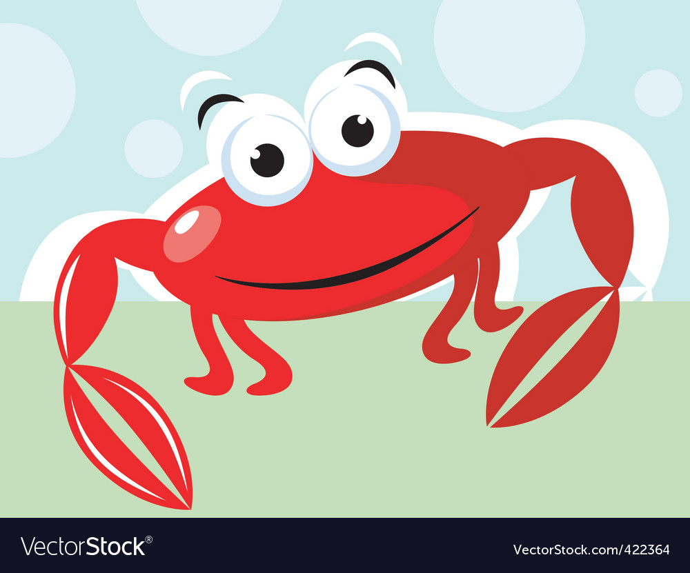 Crab i vector | Price: 1 Credit (USD $1)