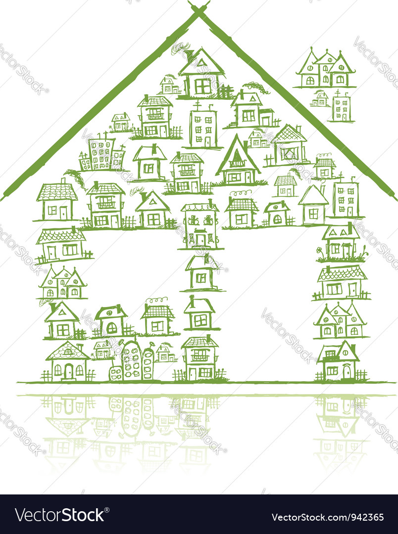 House concept for your design vector   Price: 1 Credit (USD $1)